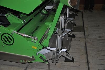Loonbedrijf Serry Agri (Kruishoutem) - eigen pneumatisch systeem
